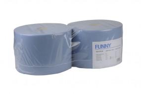 Putz-Industrierolle FUNNY - blau