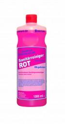 Sanitärreiniger Rot - im 1 Liter Flasche oder 10 Liter Kanister