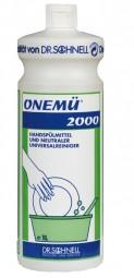 Onemü 2000 Reinigungs-und Spülmittel - Kanister 10 Liter