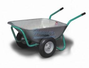 Muldenkuli 140 - Polyurethanräder oder graue Bereifung