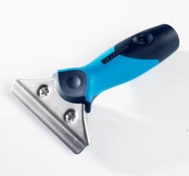 Zweikomponenten Soft Griff mit Edelstahl-Halterung